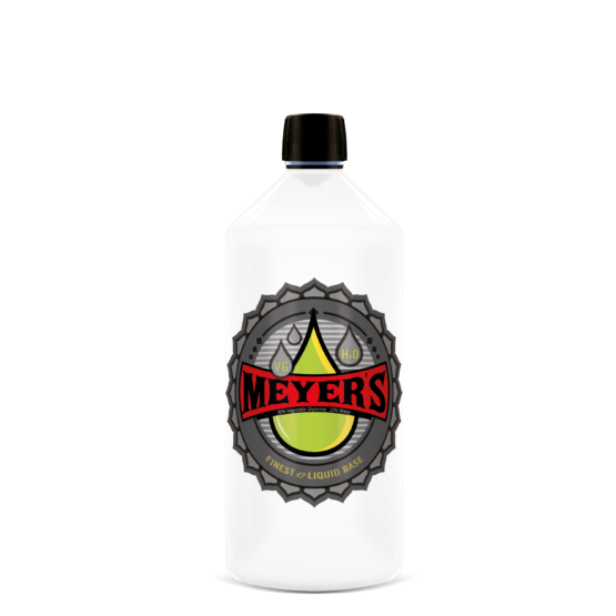 Meyer's eLiquid Base 90VG/10H2O 1 Flasche