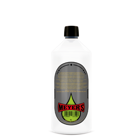 Meyer's Veganes Glycerin 1 Flasche Rückseite