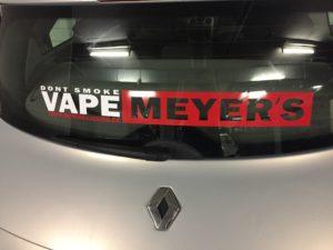 Meyer's Autoaufkleber