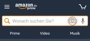 Amazon Transparency Kamerasymbol