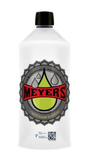 Meyer's Transparency Code geschützte Flasche
