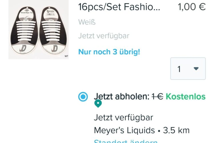 Wish Pickup bei Meyer's Liquids